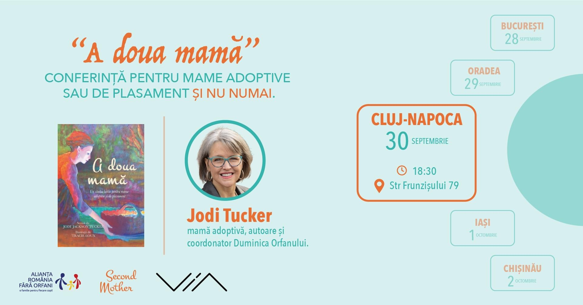 Second mothers event in Cluj
